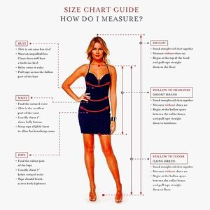 HOW TO MEASURE YOURSELF FOR A DRESS